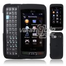 BLACK HARD 2-PC CASE COVER for LG VU PLUS PHONE GR 700