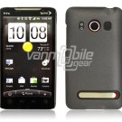 GRAY HARD 2-PC FACE PLATE CASE for SPRINT HTC EVO 4G NR