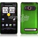 GREEN HARD 1-PC ACCESSORY CASE for HTC EVO 4G PHONE