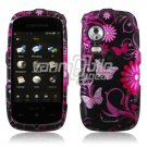 PINK FLOWERS/BUTTERFLY DESIGN CASE COVER 4 SAMSUNG INSTINCT HD S50