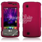 ROSE PINK HARD 2-PC CASE COVER for LG CHOCOLATE TOUCH