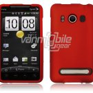 Red 1-PC HARD PLASTIC ACCESSORY for HTC EVO PHONE