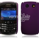 PURPLE HARD SHELL CASE COVER for BLACKBERRY CURVE 8900