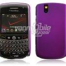 Hard Plastic Rubber Feel Cover Case for BlackBerry Tour 9600/9630 - Purple
