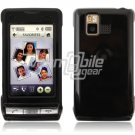 BLACK GLOSSY FACE PLATE CASE for LG DARE PHONE