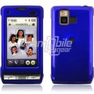 BLUE GLOSSY FACE PLATE CASE for LG DARE PHONE