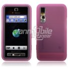 BABY PINK GEL JELLY SKIN CASE COVER 4 SAMSUNG BEHOLD T919