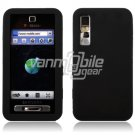BLACK GEL JELLY SKIN CASE COVER 4 SAMSUNG BEHOLD T919
