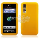 YELLOW GEL JELLY SKIN CASE COVER 4 SAMSUNG BEHOLD T919