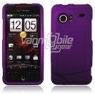PURPLE HARD FACE PLATE CASE for HTC INCREDIBLE PHONE