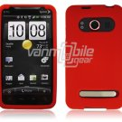 RED SOFT ACCESSORY SKIN CASE for SPRINT HTC EVO 4G NEW