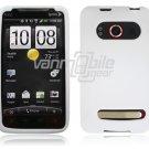 WHITE SOFT ACCESSORY SKIN CASE for SPRINT HTC EVO 4G NEW