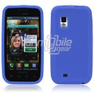 BLUE SILICONE SKIN CASE for SAMSUNG FASCINATE