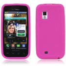 PINK SILICONE SKIN CASE for SAMSUNG FASCINATE