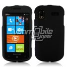 BLACK HARD RUBBERIZED CASE for SAMSUNG FOCUS i917