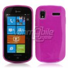 SOLID PINK GLOSSY TPU CASE for SAMSUNG FOCUS i917