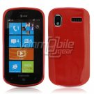 SOLID RED GLOSSY TPU CASE for SAMSUNG FOCUS i917