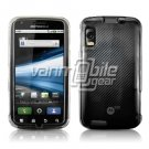 """Clear Hard """"Glossy/Transparent"""" Accessory Faceplate Case Cover + Car Charger for Motorola Atrix"""