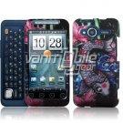 HTC Evo Shift 4G Koi Fish Design Hard 2-pc Plastic Case + Screen Protector + Car Charger