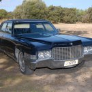 CADILLAC   FLEETWOOD  BROUGHAM   SEDAN   1969-1970