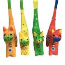 wooden cats set of 4