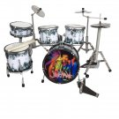 Jimmy Hendrix's miniature drum set decorative
