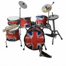 miniature drum set decorative