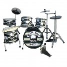 Black label miniature drum set decorative