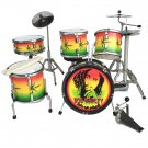 Bob Marley miniature drum set decorative