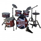 Oasis miniature drum set decorative