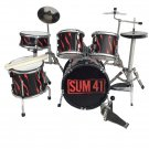 Sum 41 miniature drum set decorative