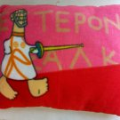2004 Athens olympic games genuine  pillow souvenir