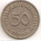 50 phening  German coin from 1950
