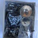 Papa roach miniature drum set