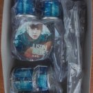 Justin Bieber miniature drum set