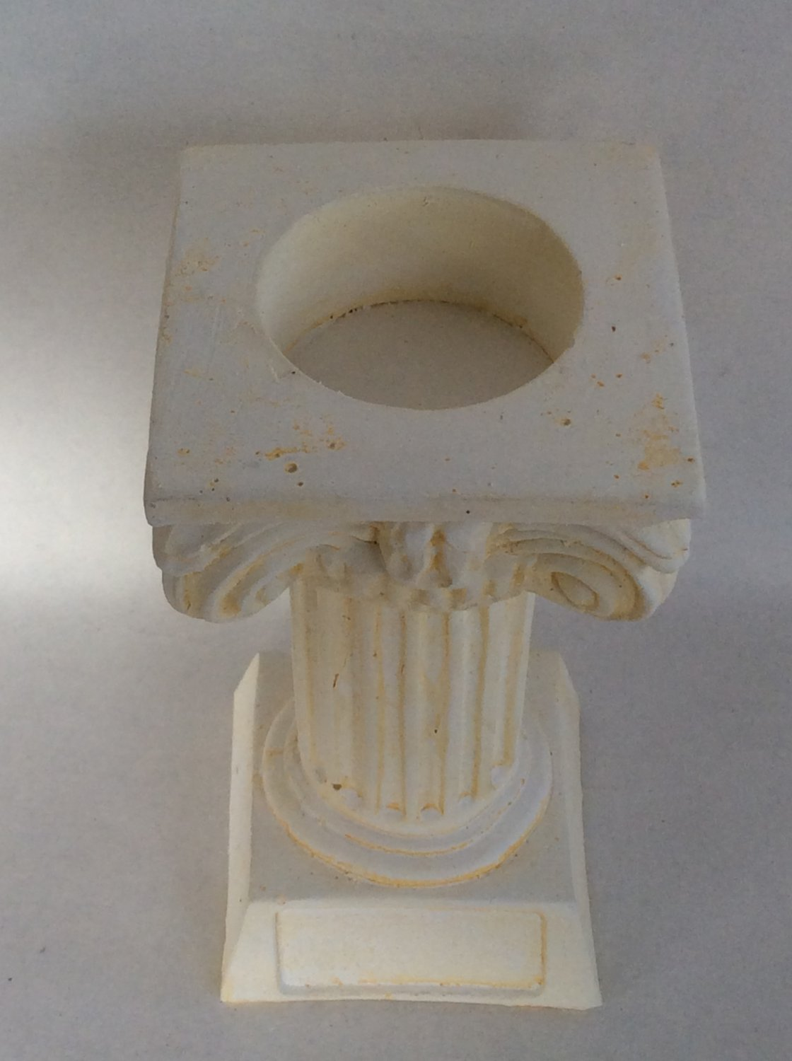 Ancient Greek column reso candle holder