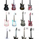 Miniature guitars decorative