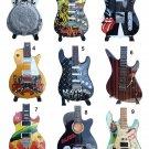 Miniature guitars decorative