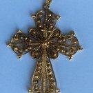 Gold Greek cross 18k (750)