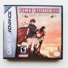Fire Emblem Corrupt Theocracy - Game + Custom Case GBA Game Boy Advance English Fan Hack