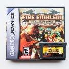 Fire Emblem  Sacred Stones Game + Case GBA Game Boy Advance English (USA)