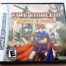 Fire Emblem Swords of Seal Game + Case GBA Game Boy Advance English Translated (USA)