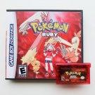 Pokemon Ruby Gameboy Advance GBA Custom Game / Case - USA Seller