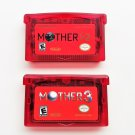 Mother 1 + 2 + 3 cartridges English Fan Translation - Earthbound Nintendo Game Boy Advance GBA