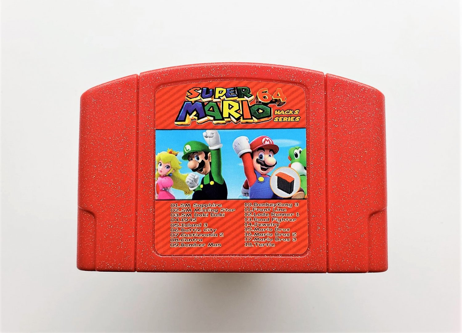 Super Mario 64 Hack - 18 in 1 Games N64 Multi-cart - Needs Expansion Pak To Play