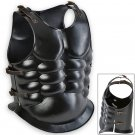 Undead Knight Cuirass 18ga Functional Armor Black Carbon Steel Muscles Chest & Back Plate