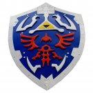 Hylian Link Zelda Triforce Metal All Steel Shield Full Size