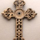 Medium Open Fleur De Lis Cross S / 2