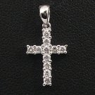 18K White Gold 0.21cts. Diamond Pendant