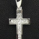 18K White Gold 0.26cts Diamond Pendant